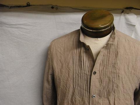 antiqued linen pintuck shirt_f0049745_11551239.jpg