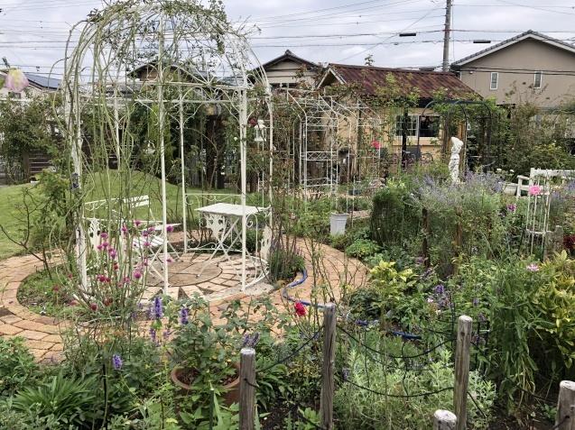 10月の庭「メインガーデンの様子」_a0243064_16221034.jpg