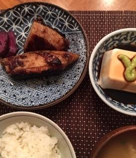 赤マンボウの料理-3種類_e0350971_11311638.jpg