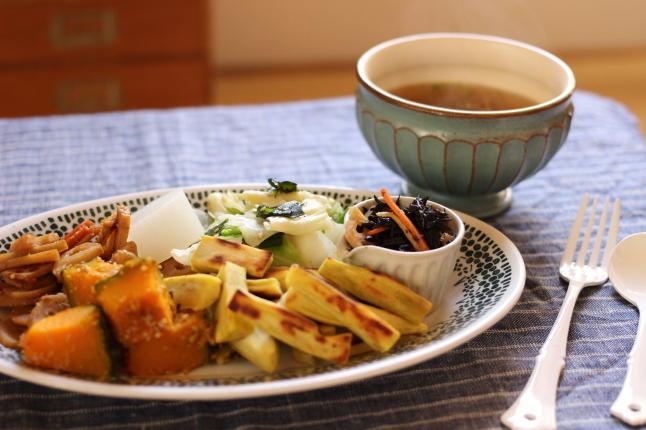 今日のお昼ごはん ~野菜食で身体が楽になってきました - キラキラのある日々