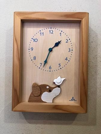 キコリ・デザイン研究所さんの時計_b0100229_13445910.jpg
