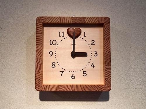 キコリ・デザイン研究所さんの時計_b0100229_13583156.jpg