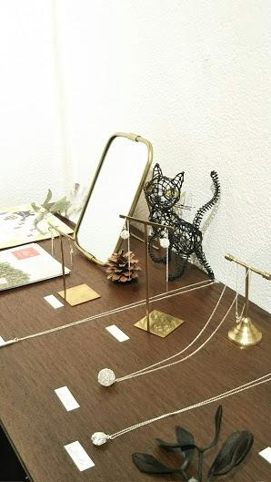 ≪銀座奥野ビル≫に、友達の展示会を見に行って来ました^^_f0340942_14085592.jpg