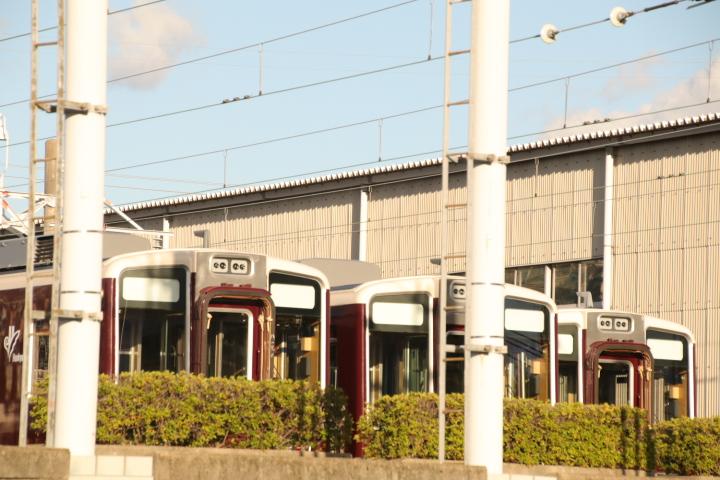 阪急8040系 分割留置_d0202264_17233665.jpg