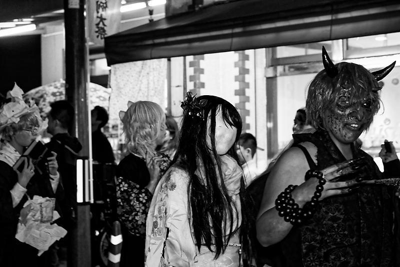 一条百鬼夜行妖怪パレード2018@大将軍商店街・妖怪ストリート 其の一_f0032011_19371511.jpg