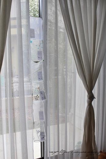 【オーダーカーテン】お洒落な刺繍入りレースカーテンでリビングの模様替え♪_f0023333_22455349.jpg