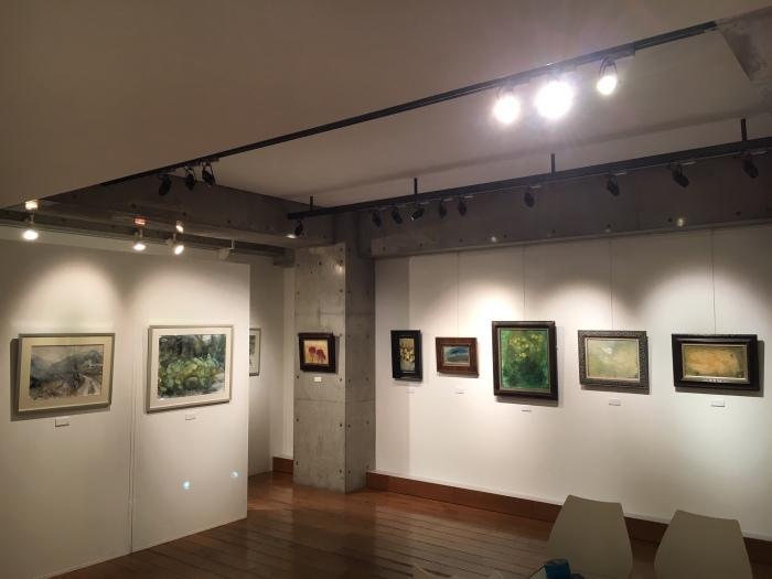 麻田博子洋画展_e0255740_19535963.jpg