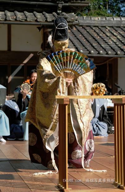桃香野八幡宮例祭奉納「翁」,The Noh performance for GOD._e0245846_16432528.png