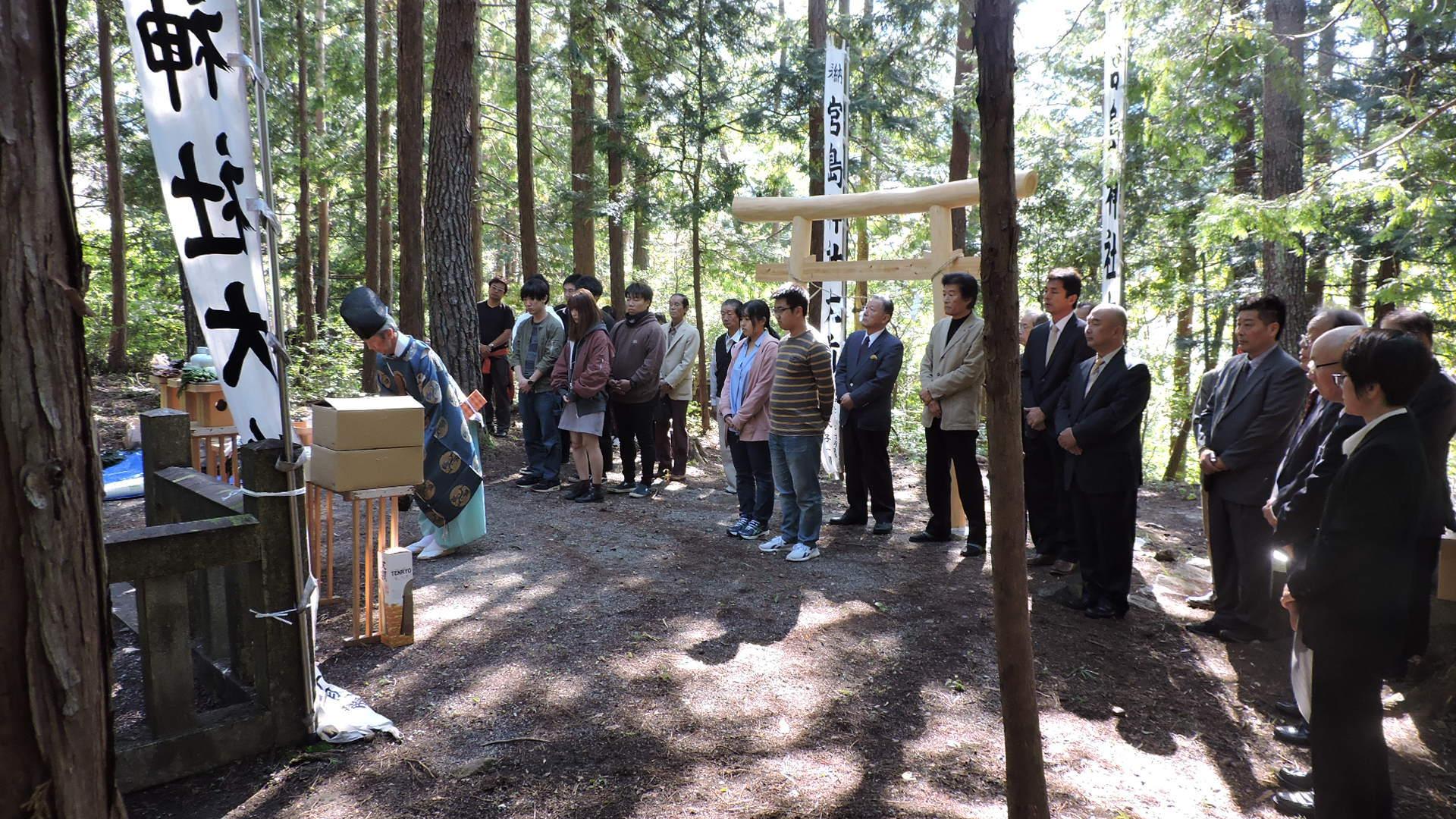 付知峡『宮島神社祭』が執り行われました_e0020051_09370044.jpg