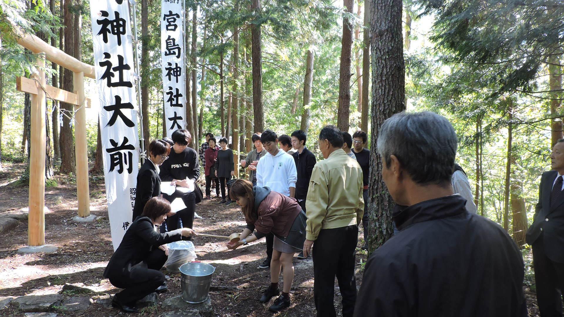 付知峡『宮島神社祭』が執り行われました_e0020051_09372569.jpg