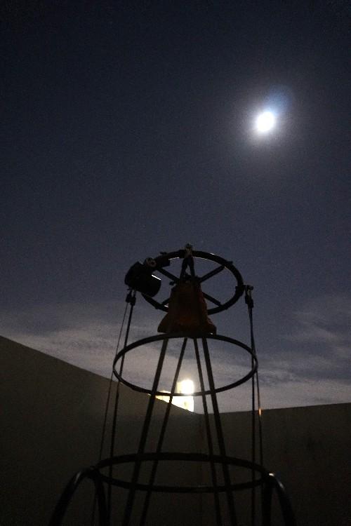 オリオン座流星群がしょぼかったので十三夜の月を撮る_a0095470_23044855.jpg