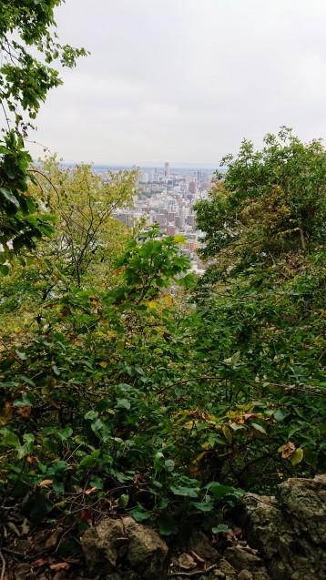 円山公園散策というか円山登山?_e0167593_23375490.jpg