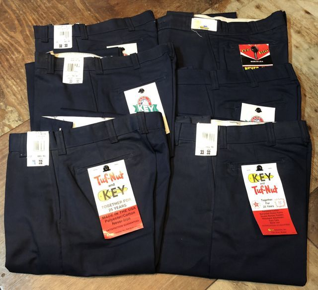 10月22日(月)入荷!80s~KEY WORK PANTS ! MADE IN U.S.A_c0144020_14131967.jpg