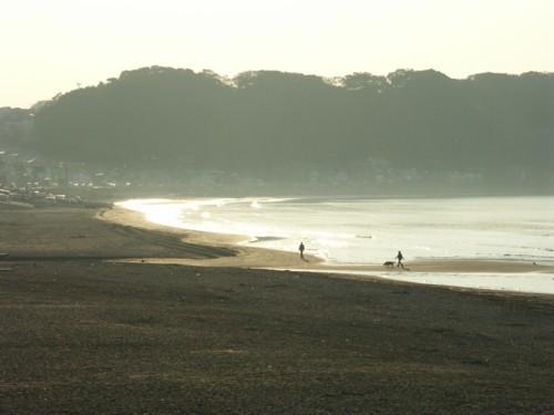 朝靄に霞む浜辺_f0055131_12014030.jpg
