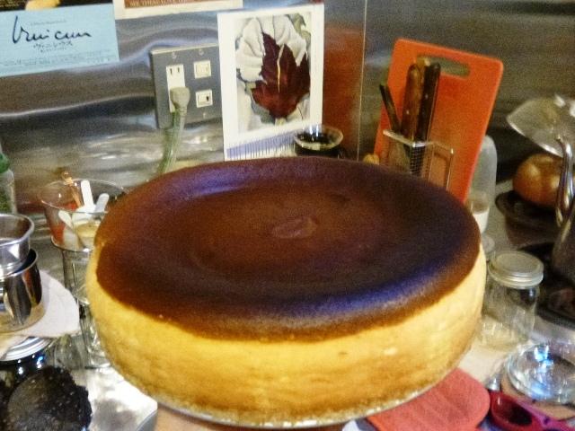 たまにはチーズケーキ_e0230141_19295934.jpg