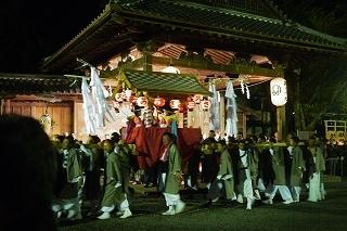 ②豪華な鉾山・金御輿・太鼓神輿・・篠山の秋祭り_f0226293_10011315.jpg