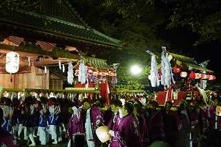 ②豪華な鉾山・金御輿・太鼓神輿・・篠山の秋祭り_f0226293_10015235.jpg