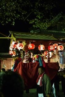 ②豪華な鉾山・金御輿・太鼓神輿・・篠山の秋祭り_f0226293_10015249.jpg