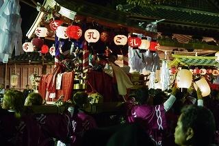 ②豪華な鉾山・金御輿・太鼓神輿・・篠山の秋祭り_f0226293_10021508.jpg
