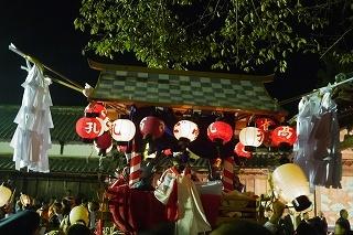 ②豪華な鉾山・金御輿・太鼓神輿・・篠山の秋祭り_f0226293_10021523.jpg