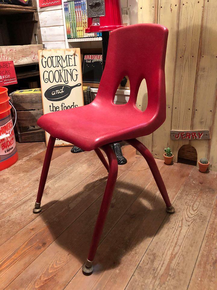 ◆ Vintage School Chair & Deadstock Padlock ◆_c0078202_08204106.jpg