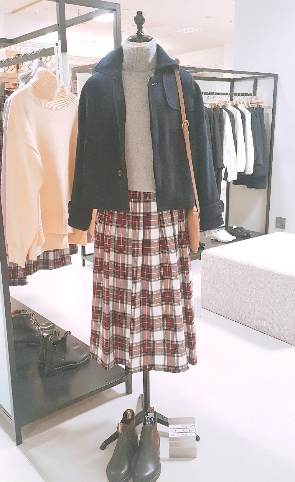 ~check skirt code~伊勢丹立川店_b0397010_09393957.jpg