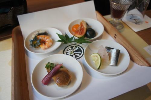 【鳥取 島根 山口の旅⑪ いにしえの宿 佳雲のお食事】_f0215714_16315981.jpg