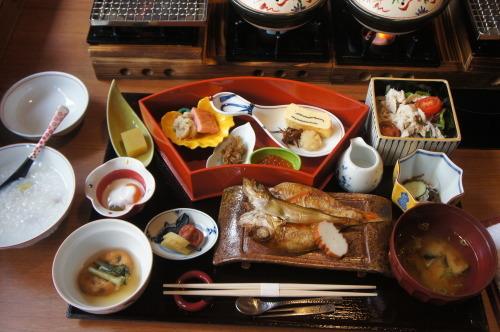【鳥取 島根 山口の旅⑪ いにしえの宿 佳雲のお食事】_f0215714_16350908.jpg