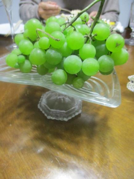 Rちゃんから葡萄、ポートランドを戴いた&キノコのグラタン_a0279743_15203722.jpg