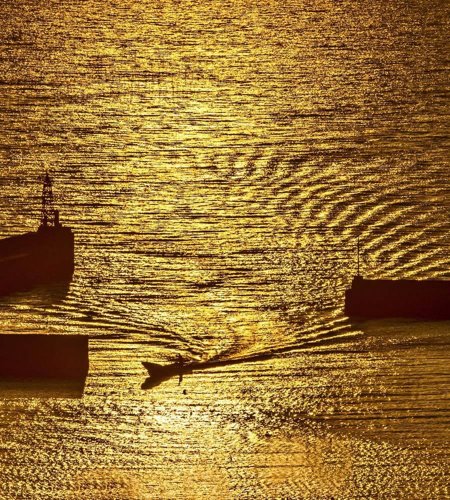 夕景 回想⑳)夕暮れの河内港周辺=熊本県熊本市_d0238245_22522438.jpg