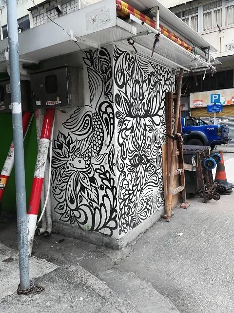 Leslie Cheung Graffiti 周辺散策_b0248150_06573643.jpg