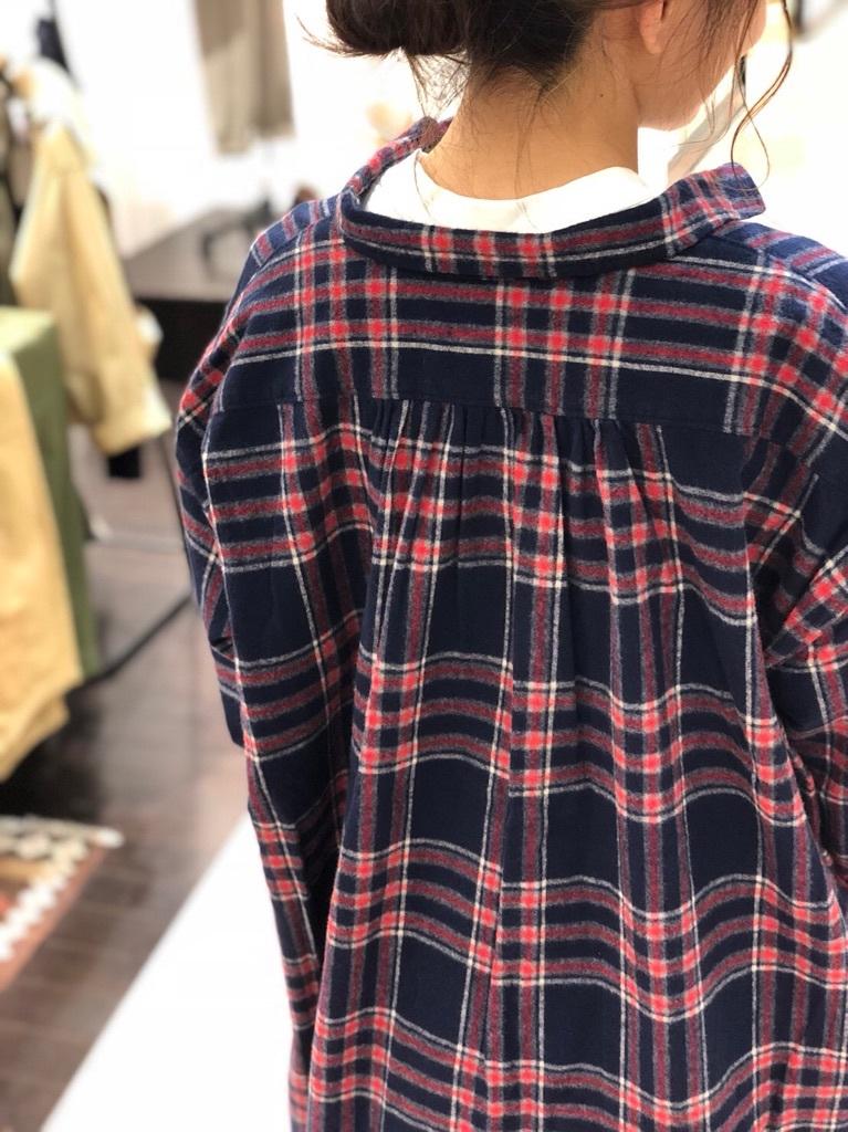 タータンワイドシャツワンピース_e0272788_10320842.jpg