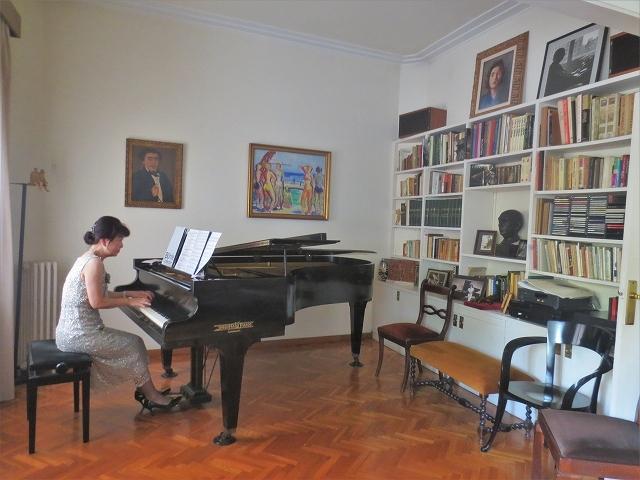 モンポウ財団で上原由紀音さんのピアノを聞く_b0064411_07065521.jpg