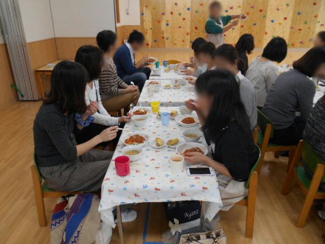 うさぎ組・りす組 給食懇談会_e0148419_13333682.jpg