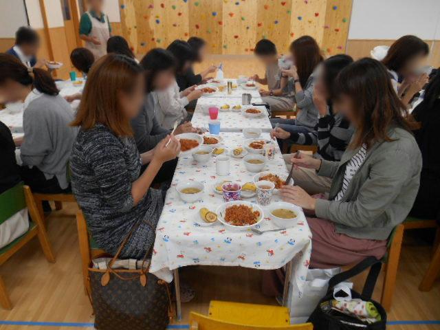 うさぎ組・りす組 給食懇談会_e0148419_13334867.jpg