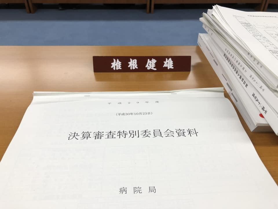 『決算審査特別委員会』_f0259324_15384425.jpg