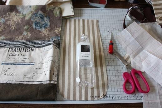 【デコレクションズ】制作中のバッグとハンドメイドにお勧めなリボンテープ♪_f0023333_19500194.jpg
