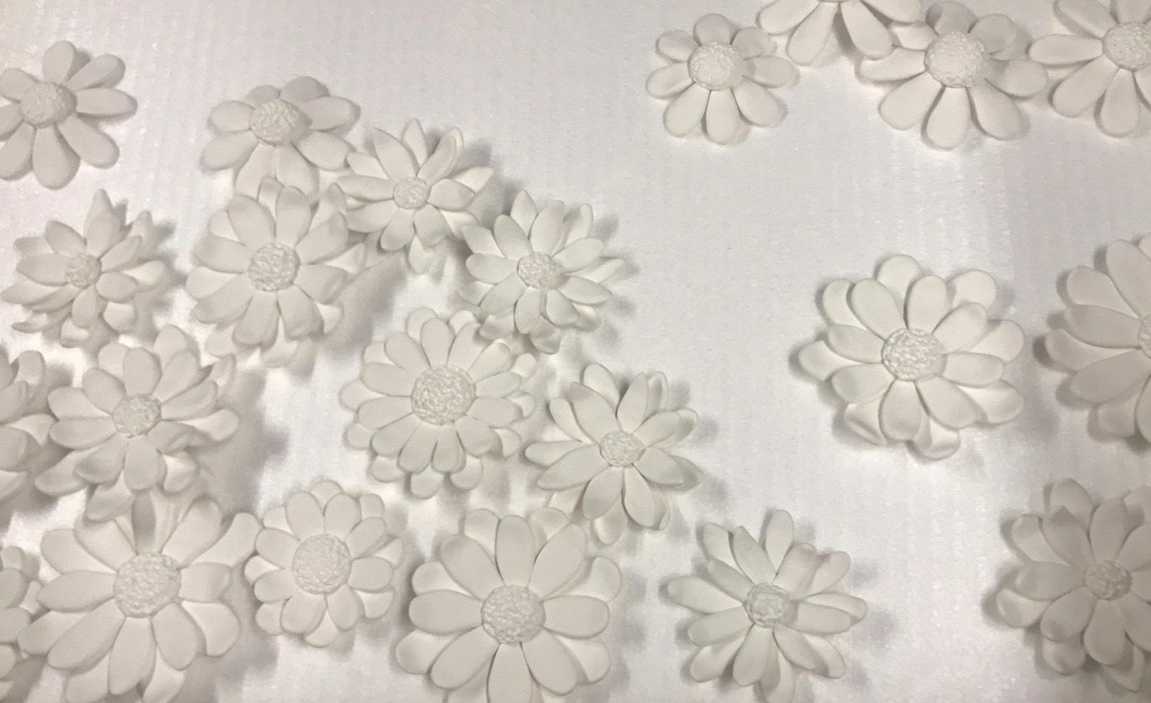 粘土作品制作過程 「明石城と菊の花」_f0395434_00564145.jpg