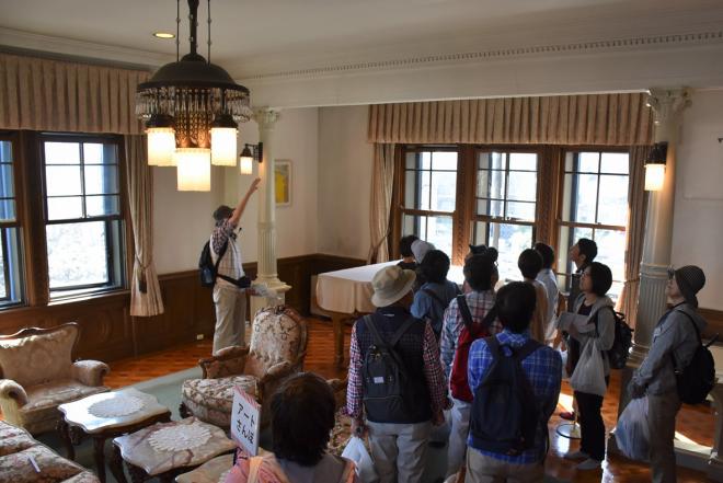 アートさんぽ[川口モダン建築探訪]を開催しました。_c0222139_20154078.jpg