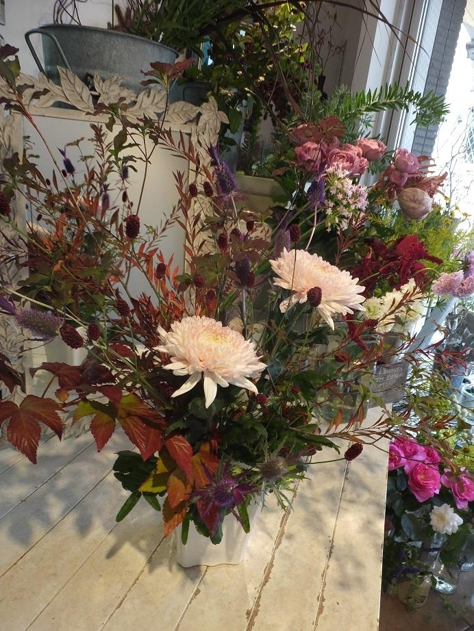 オークリーフ花の教室(甘艸さんと大草さんの作品)_f0049672_17351475.jpg