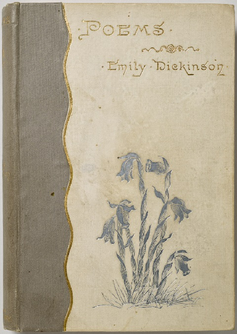 書影:Emily Dickinson 詩集 初版の装丁_c0084183_10472482.jpg