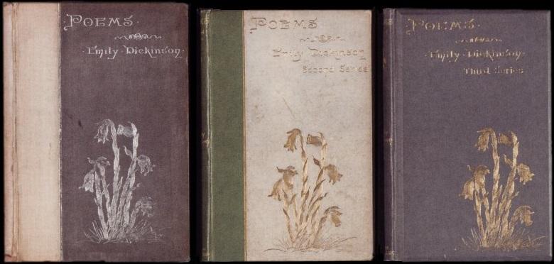 書影:Emily Dickinson 詩集 初版の装丁_c0084183_1123454.jpg