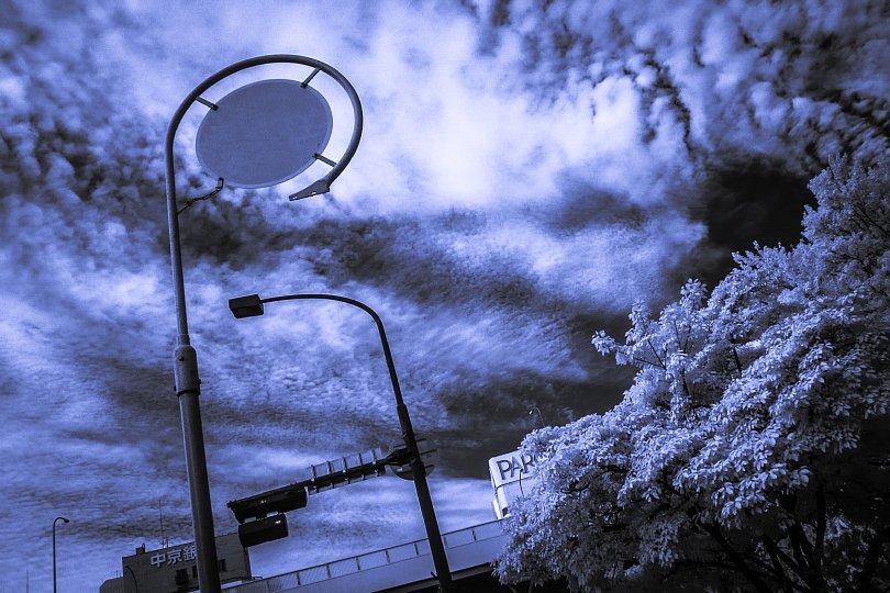 秋空に立ち尽くす消火栓看板たち_d0353489_22082960.jpg