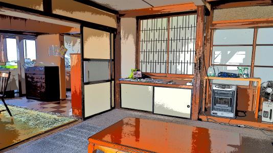 体験住宅「浦佐びしゃもん亭」で面白写真を撮ってみました_c0336902_21050187.jpg
