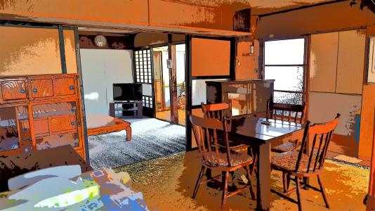 体験住宅「浦佐びしゃもん亭」で面白写真を撮ってみました_c0336902_21073744.jpg