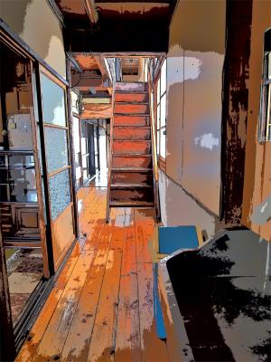 体験住宅「浦佐びしゃもん亭」で面白写真を撮ってみました_c0336902_21075029.jpg
