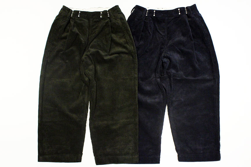 "Ordinary fits (オーディナリーフィッツ) "" BOTTLES PANTS \"" corduroy_b0122806_13313328.jpg"