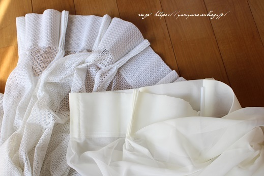 【オーダーカーテン】お洒落な刺繍入りレースカーテンでリビングの模様替え♪_f0023333_22260988.jpg