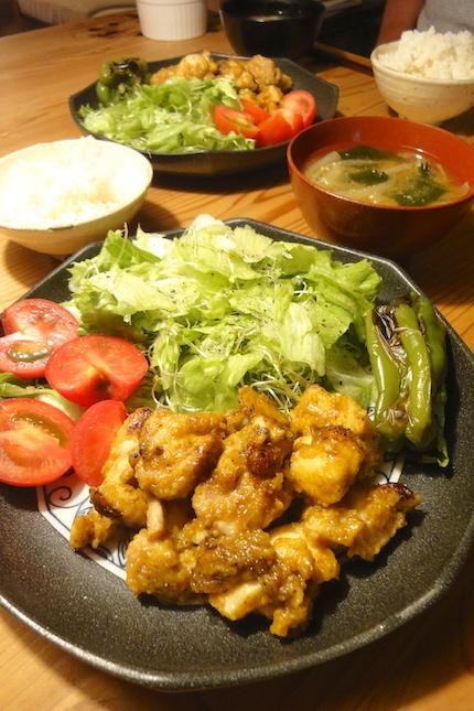 鶏ももソテーカレー風味_f0054859_15213989.jpg