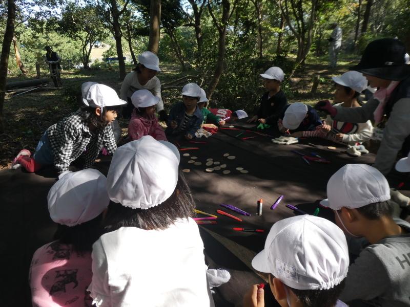 淡輪小学校1年生遠足「うみべの森散策」_c0108460_15231744.jpg